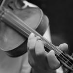 violine hand
